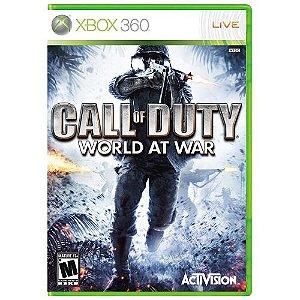 Call of Duty World at War Seminovo – Xbox 360