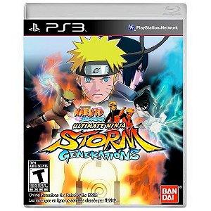 Naruto Shippuden Ultimate Ninja Storm Generations Seminovo - PS3