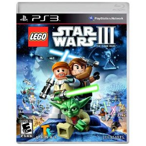 LEGO Star Wars III The Clone Wars Seminovo - PS3