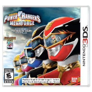 Power Rangers Megaforce Seminovo - 3DS