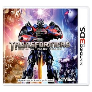 Transformers Rise of the Dark Spark Seminovo - 3DS