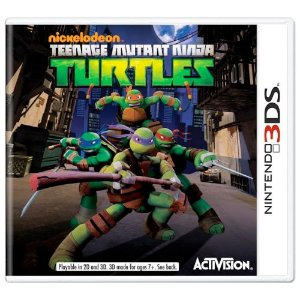 Teenage Mutant Ninja Turtles Seminovo - 3DS
