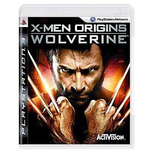 X-Men Origins: Wolverine Seminovo - PS3