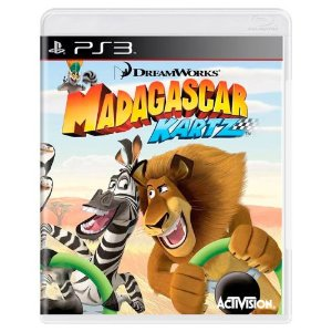 Madagascar Kartz Seminovo - PS3
