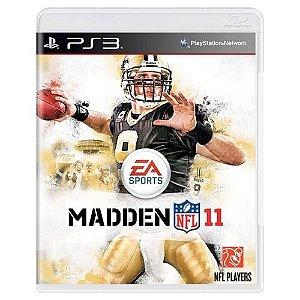 Madden NFL 11 Seminovo - PS3