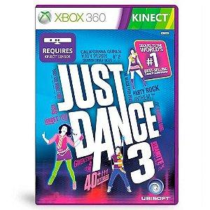 Just Dance 3 Seminovo - Xbox 360