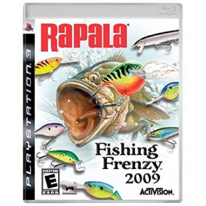 Rapala Fishing Frenzy Seminovo - PS3