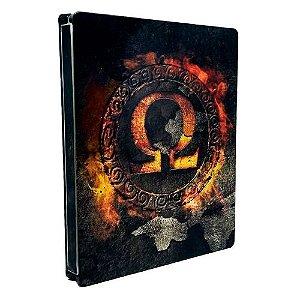 God of War Omega Collection (SteelCase) *SEM JOGO* Seminovo - PS3