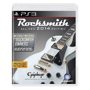 Rocksmith 2014 Edition (CABO NÃO INCLUSO) Seminovo - PS3