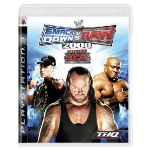 SmackDown vs. Raw 2008 Seminovo - PS3