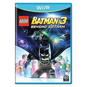 LEGO Batman 3 Beyond Gotham Seminovo - Wii U