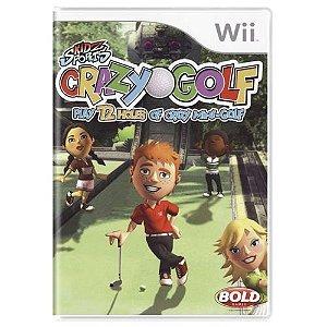 Kidz Sports Crazy Golf Seminovo - Wii