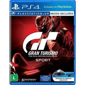 Gran Turismo Sport PS VR Seminovo - PS4