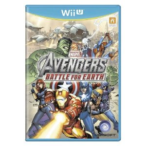 Avengers Battle for Earth Seminovo - Wii U