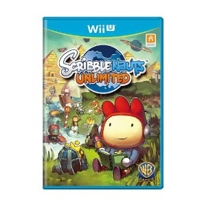 Scribblenauts Unlimited Seminovo - Wii U