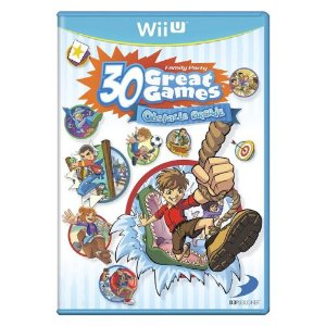 Family Party 30 Great Games Obstacle Arcade Seminovo - Wii U