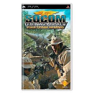 SOCOM U.S. Navy SEALs: Fireteam Bravo Seminovo - PSP