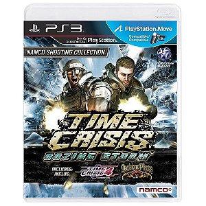 Time Crisis Razing Storm Seminovo - PS3
