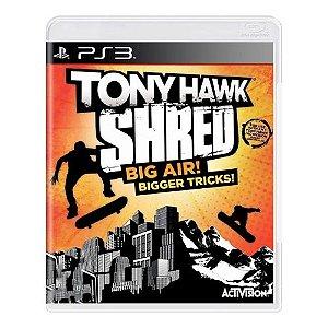 Tony Hawk Shred Seminovo - PS3