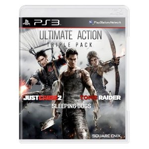 Ultimate Action Triple Pack Seminovo - PS3