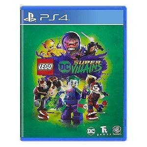 LEGO DC Super-Villains Seminovo – PS4