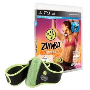 Zumba Fitness: Join the Party + Zumba Fitness Belt Seminovo - PS3
