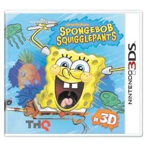 Spongebob Squigglepants Seminovo - 3DS