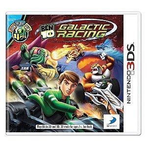 Ben 10 Galactic Racing Seminovo - 3DS