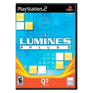 Lumines Plus Seminovo - PS2