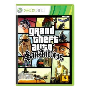 Grand Theft Auto: San Andreas (GTA) Seminovo - Xbox 360