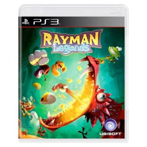 Rayman Legends Seminovo - PS3