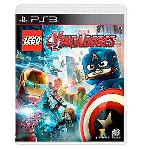 LEGO Marvel Vingadores Seminovo - PS3