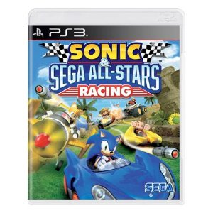 Sonic & Sega All-Stars Racing Seminovo - PS3