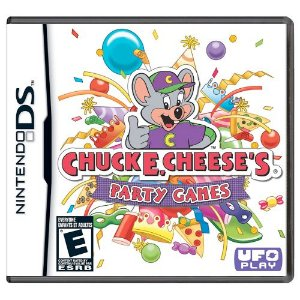 Chuck E Cheese's Party Games Seminovo - Nintendo DS