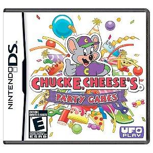 Chuck E Cheese's Party Games Seminovo - Nintendo DS
