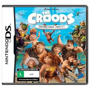 The Croods: Prehistoric Party Seminovo - Nintendo DS