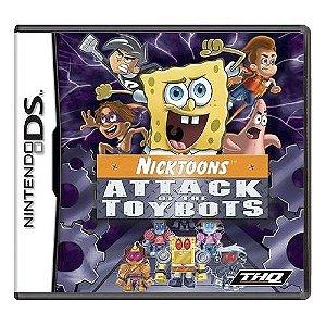 Nicktoons: Attack of the Toybots Seminovo - Nintendo DS