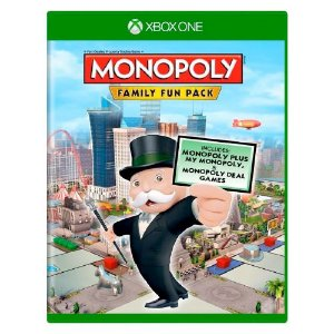 Monopoly Family Fun Pack Seminovo - Xbox One