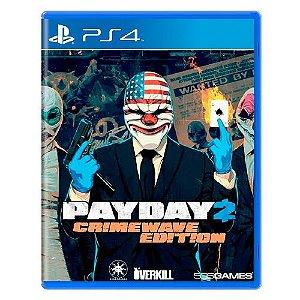 Payday 2 (Crimewave Edition) Seminovo - PS4
