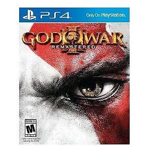 God Of War 3 Remastered (ENCARTELADO) Seminovo – Ps4