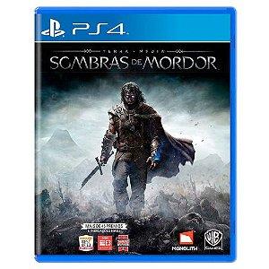 Terra-Média: Sombras de Mordor Seminovo - PS4