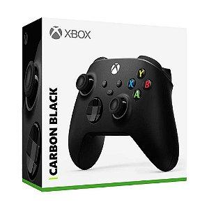 Controle sem fio Xbox Carbon Black - Series X, S, One - Preto