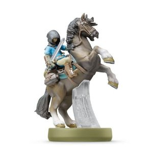 Amiibo: Link (Rider) - The Legend of Zelda: Breath of the Wild - Seminovo
