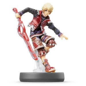 Amiibo: Shulk - Super Smash Bros - Seminovo