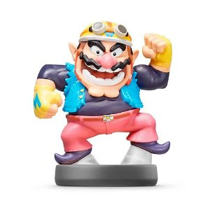 Amiibo: Wario - Super Smash Bros. - Seminovo