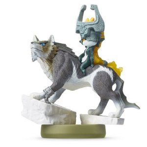 Amiibo: Wolf Link - The Legend of Zelda - Seminovo