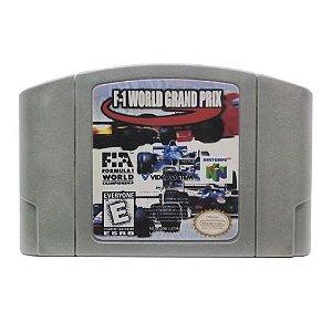 F-1 World Grand Prix Seminovo - N64 - Nintendo 64