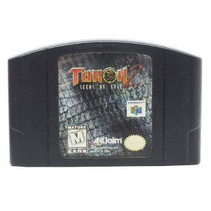 Turok 2: Seeds of Evil Seminovo - N64 - Nintendo 64