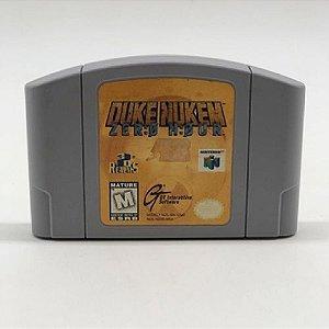 Duke Nukem: Zero Hour Seminovo - N64 - Nintendo 64
