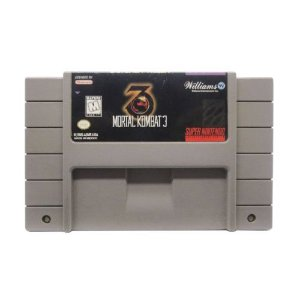 Mortal Kombat 3 Seminovo - SNES